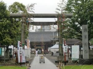 浅草神社 鳥居