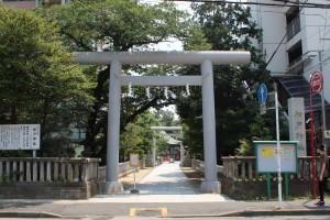 松戸神社 一之鳥居
