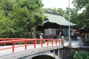 松戸神社 潜龍橋