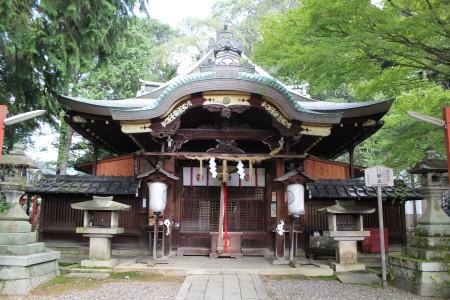 粟田神社 御本殿