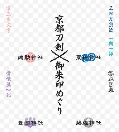 京都刀剣御朱印めぐり / 京都市