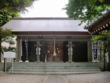 上神明天祖神社 社殿
