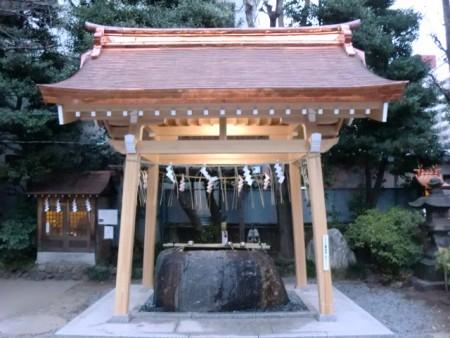 猿江神社手水舎