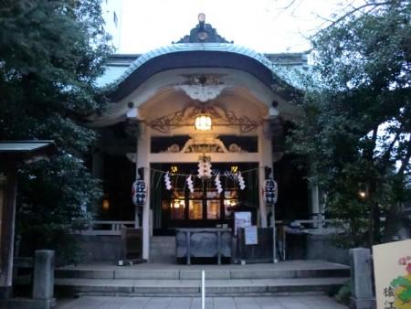 猿江神社社殿