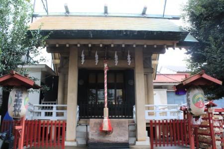 皆中稲荷神社社殿