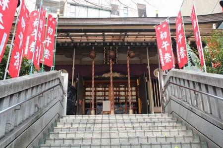 十番稲荷神社社殿