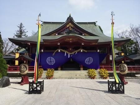 笠間稲荷神社社殿