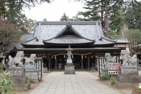 大宝八幡宮社殿
