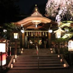 子安神社 夜間参拝限定御朱印/東京都八王子市