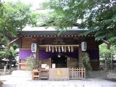 天祖神社社殿