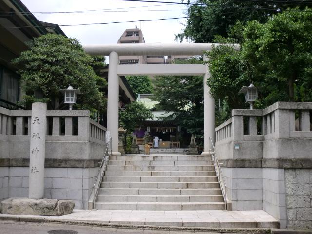 天祖神社 夏詣御朱印/東京都豊島区