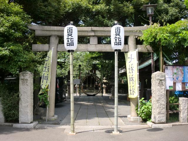 七社神社 夏詣御朱印/東京都北区