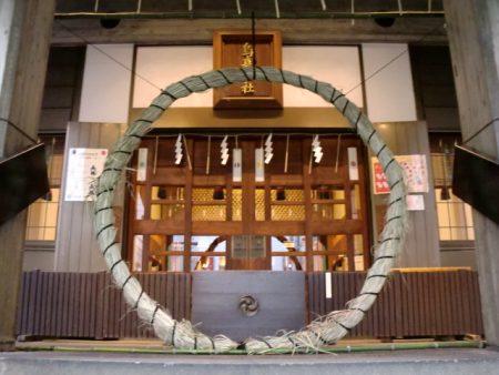 烏森神社芽の輪