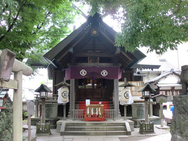 三島神社 夏詣御朱印/東京都台東区