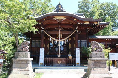 行田八幡神社社殿