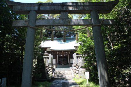 忍諏訪神社社殿