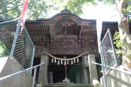前玉神社社殿