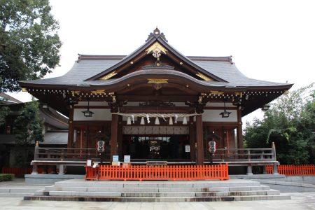 道野辺八幡宮社殿