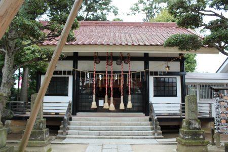 高オ神社社殿