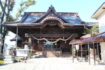 伊勢崎神社社殿