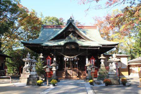 上野総社神社社殿