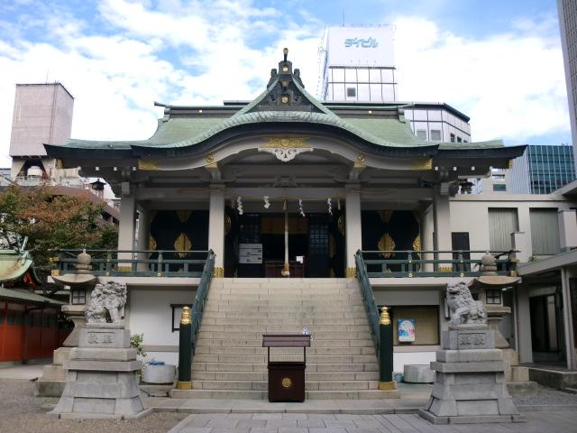 難波神社 御朱印・御朱印帳/大阪市中央区