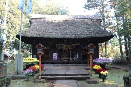 國王神社社殿