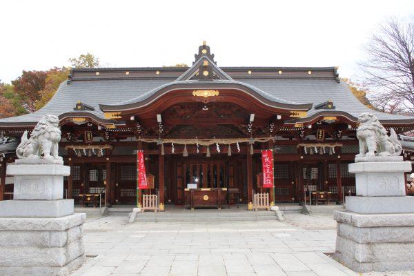 立川諏訪神社 御朱印 / 東京都立川市