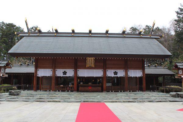 櫻木神社 平成30年1月限定縁起御朱印「戌年御朱印」/ 千葉県野田市