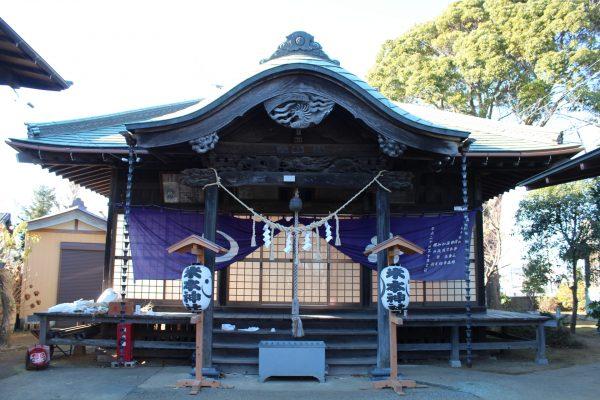 米本神社 御朱印 / 千葉県八千代市