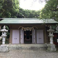 前原御嶽神社 御朱印 / 千葉県船橋市