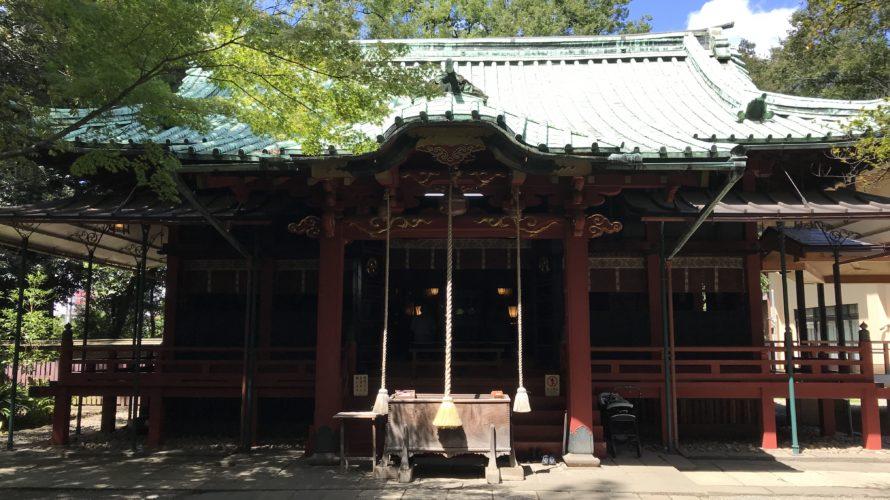 氷川神社(赤坂)  赤坂氷川祭記念御朱印 / 東京都港区