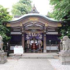 雑司ヶ谷大鳥神社 例大祭御朱印 / 東京都豊島区